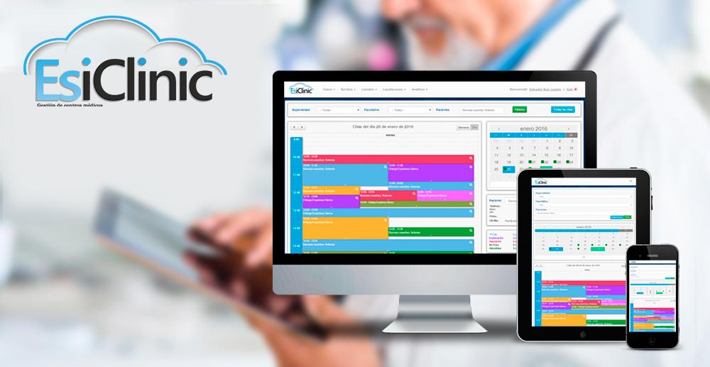 Esiclinic - Gestión de clínicas en la nube